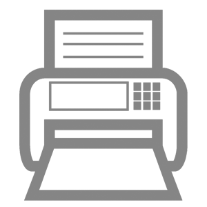 Fax icon - River Horse Pallets